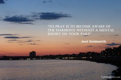 JG to pray
