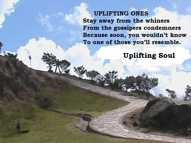 Uplifting Ones
